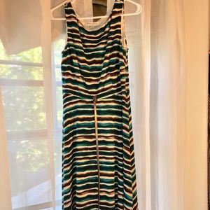 Evan Picone Striped Dress size 6